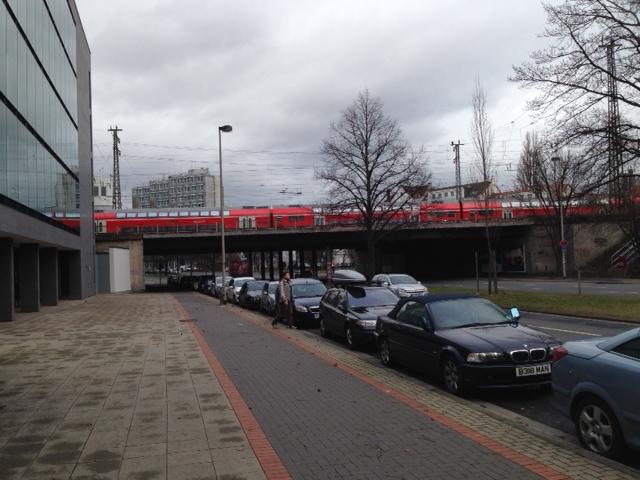 Hannover Berliner Allee Eisenbahnbruecke