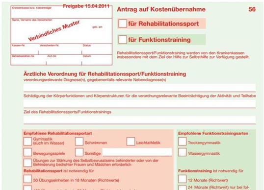 Funktionstraining Hannover Verordnung
